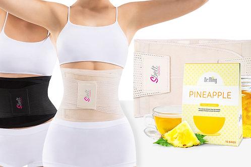 Sbelt Women + Dr. Ming's Pineapple Tea (15-Bags)