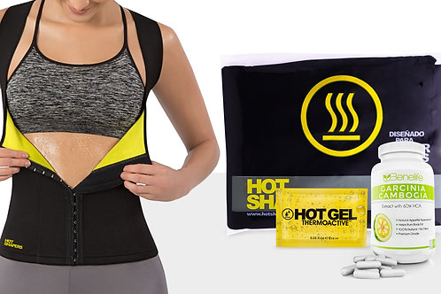 Cami Hot Waist Cincher + HV Thermo Active (0.33 oz) + Benelife GC