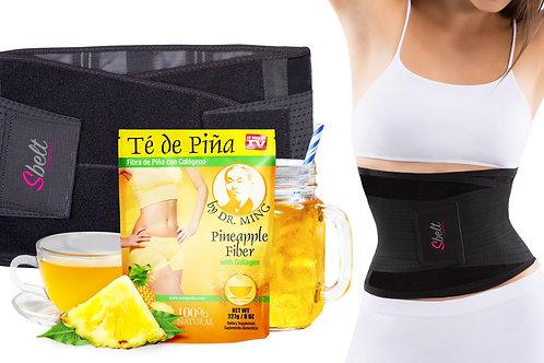 Sbelt + Dr. Ming's Pineapple Fiber