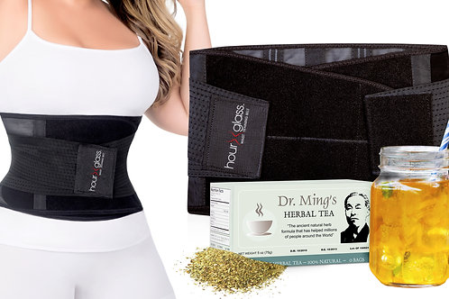 Genie HG Plus + Dr. Ming's Green Tea (30-Pack)