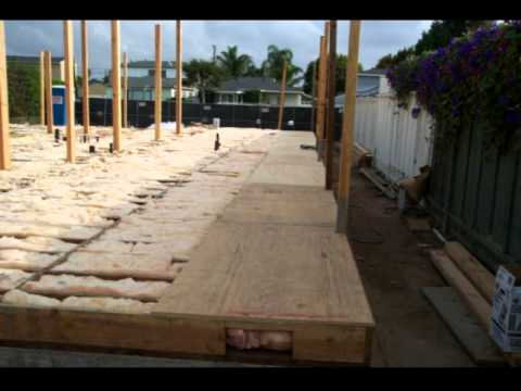 Piso Estrutura de madeira