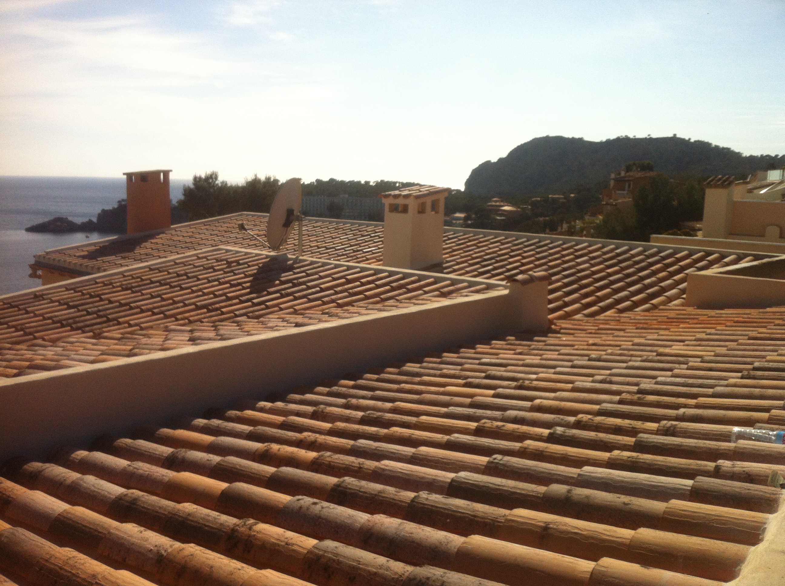 Ziegelaustausch Dach Mallorca