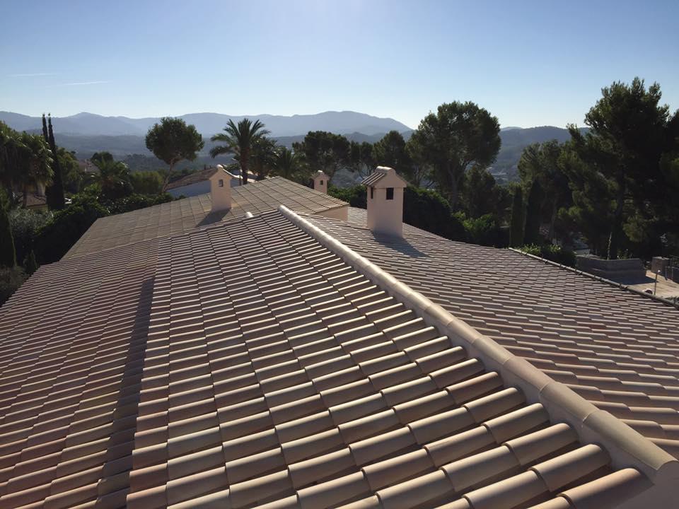 Mallorca Ziegeldach Dachdecker