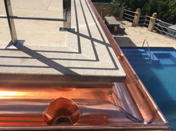 Kupferrinne Dachdecker Mallorca