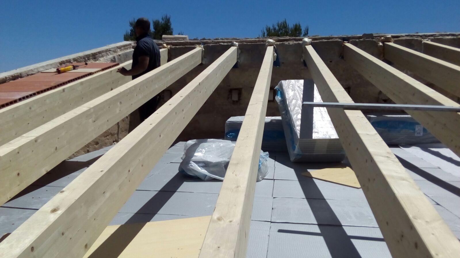 Dachstuhl auf Mallorca