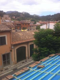 Verwendung von alten Dachziegeln