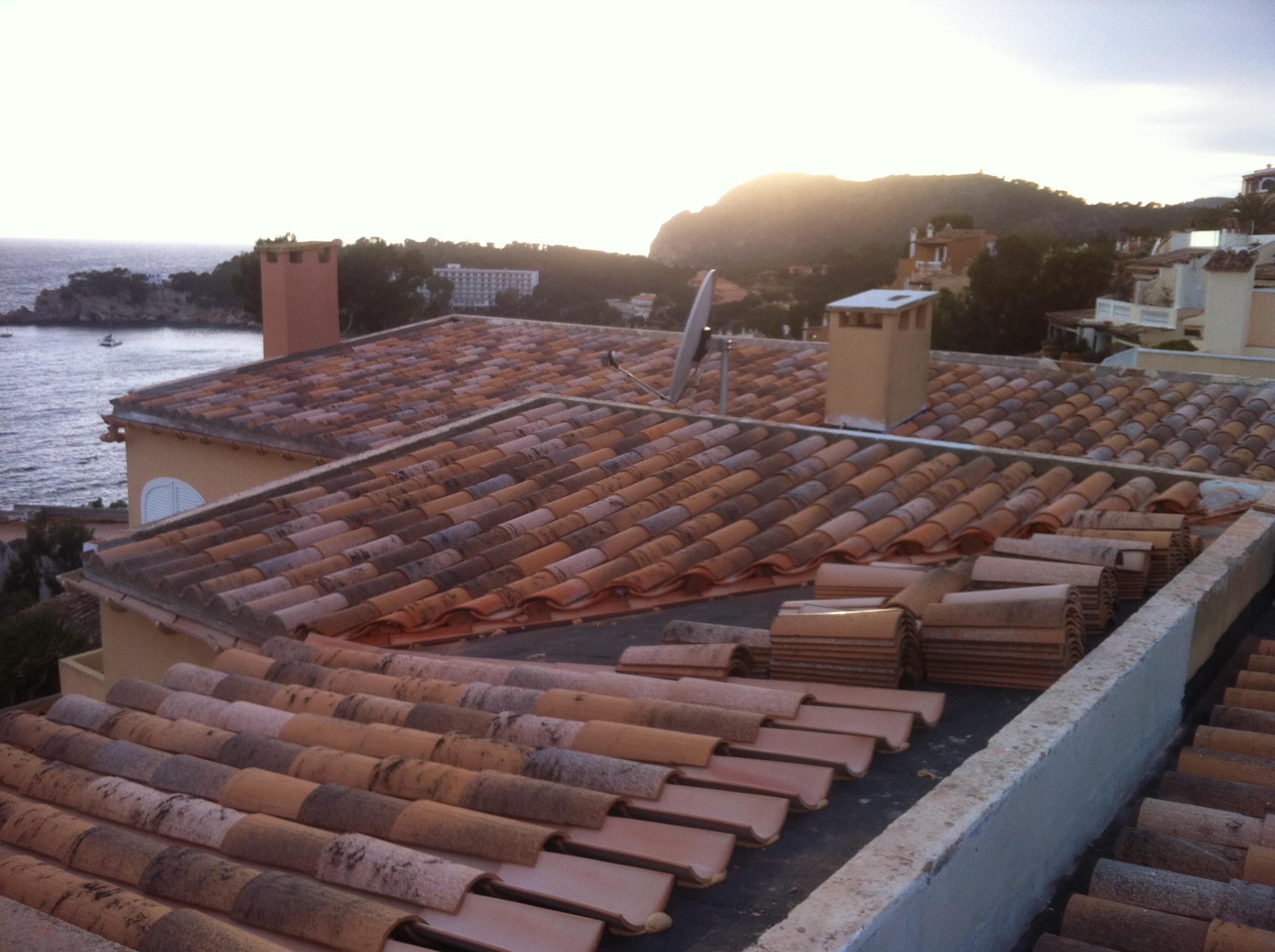 Dacheindeckung auf Mallorca