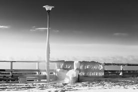 After Snowstorm, Ventspils, Latvia