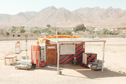 Roadside Cafe, Jordan