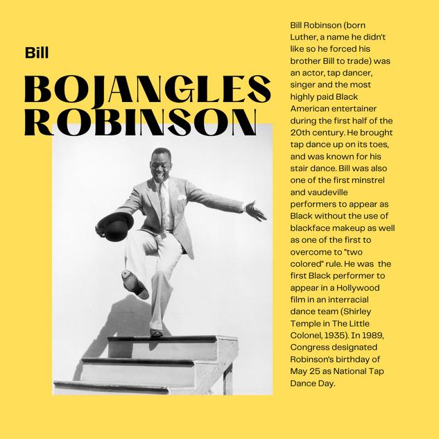 "Bill ""Bojangles"" Robinson"