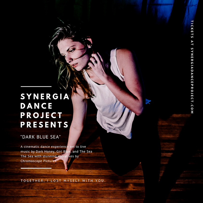 """Synergia Dance Project presents """"Dark Blue Sea"""" at Cohoes Music Hall"""