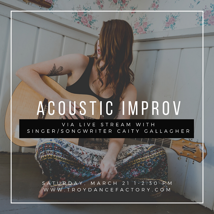 Acoustic Improv Live With Caity Gallagher