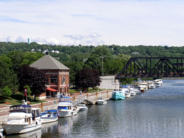 Waterford on the Mohawk River