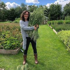 Nicola is studying an apprenticeship in herbalism