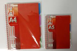 A4-7 R40 EACH A5-7 R25 EACH ORANGE