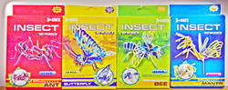C101 - C104 (3d insects) R5.50