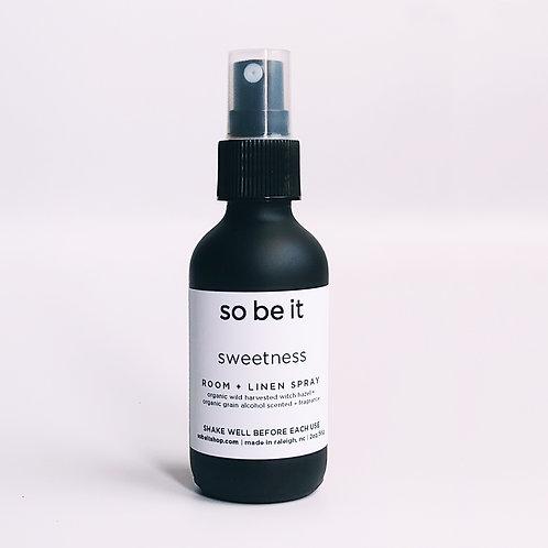 sweetness - room spray