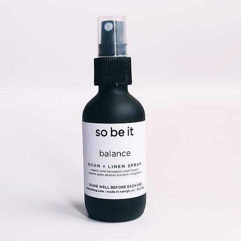 balance - room spray
