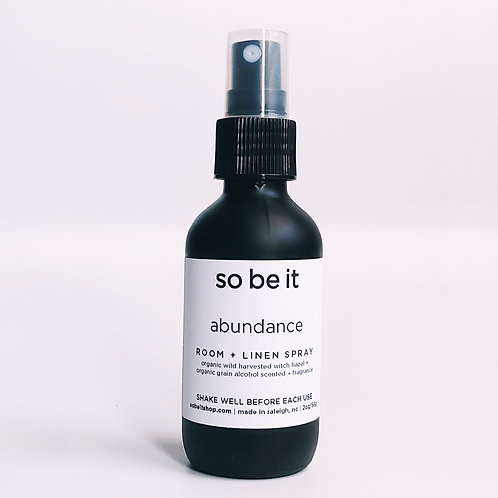 abundance - room spray