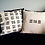 Thumbnail: hand-stamped pillow