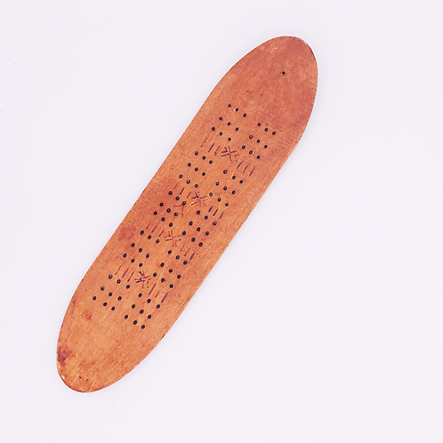 dots wood holder
