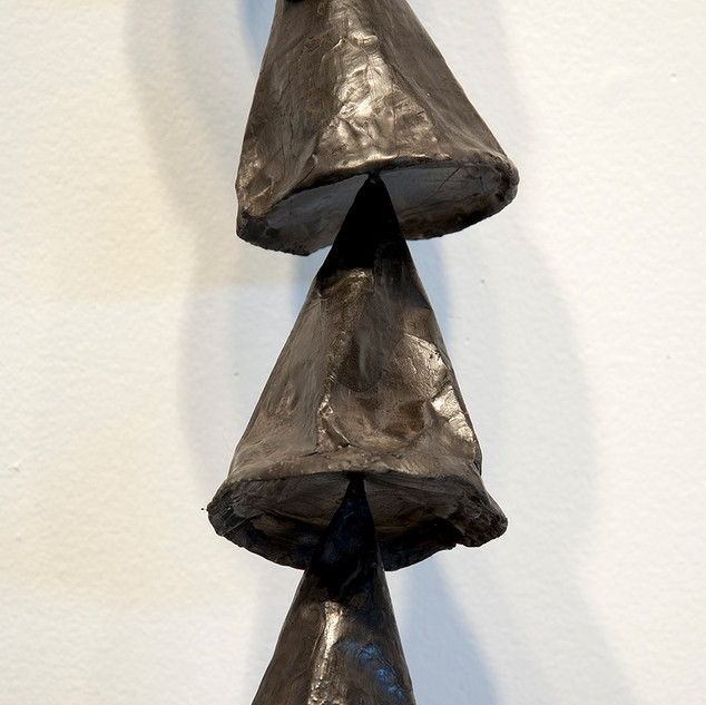 Untitled Black Cones (detail)