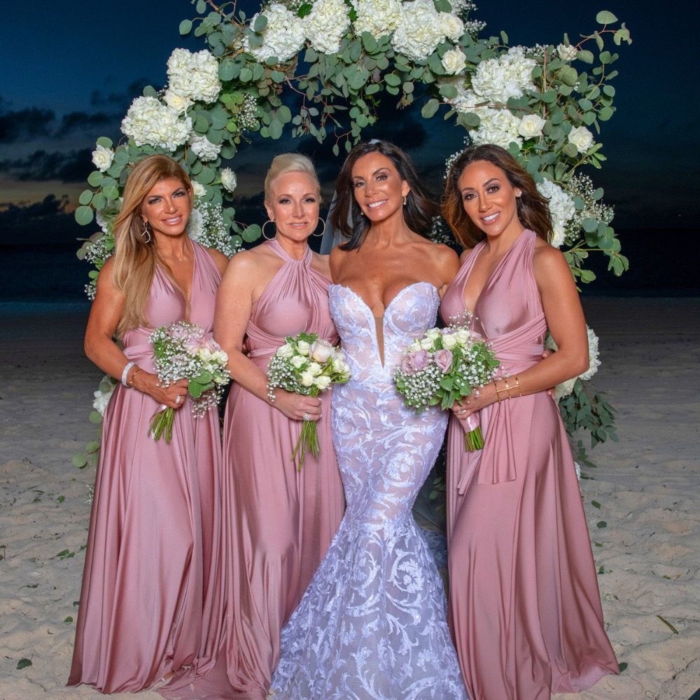 Shade Of The Week Danielle Staub S Wedding Good Tea Celebrity Gossip Petty