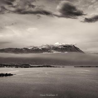 Foschia sul Lago di Garda