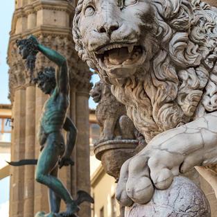 Statue a Firenze