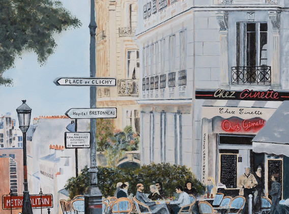 CHEZ GINETTE...MONTMARTRE PARIS