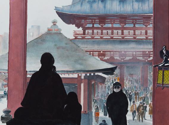 ASAKUSA KANNON TEMPLE...TOKYO