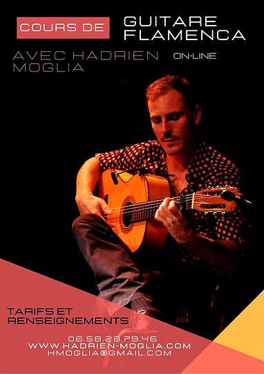 Hadrien Moglia Cours de guitare