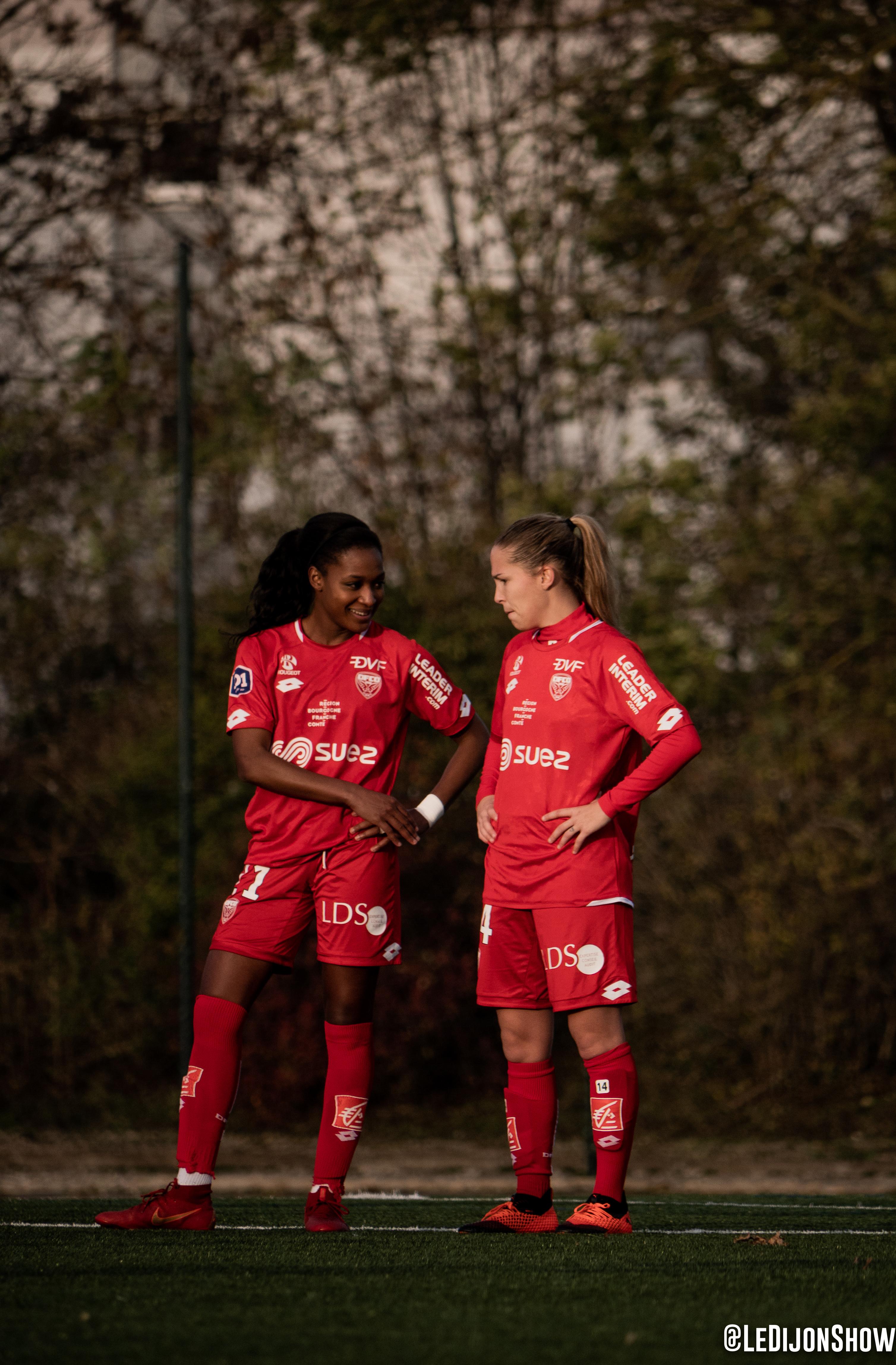 Fatoumata Baldé et Tatiana Solanet