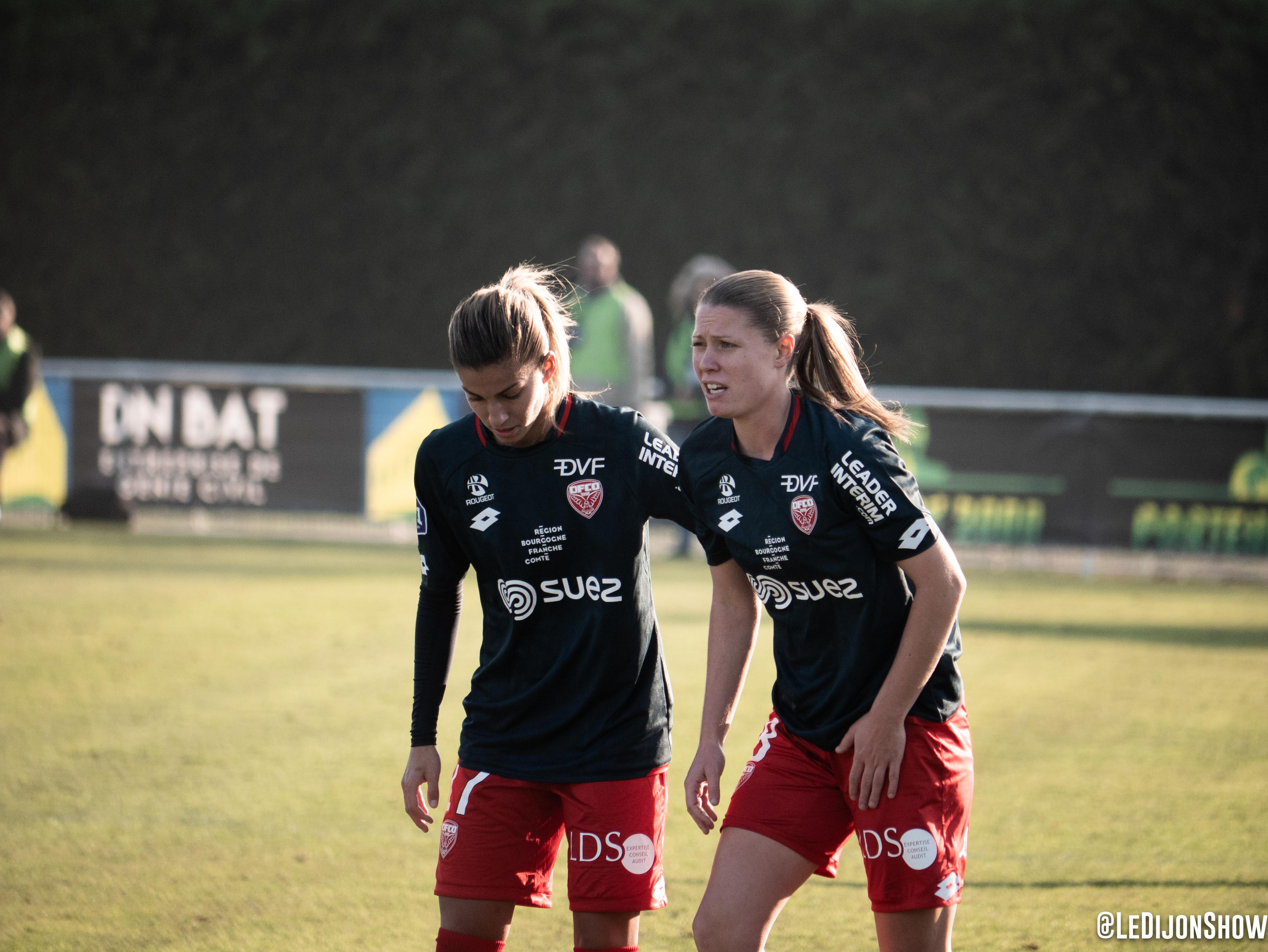 Lalia Storti et Léa Declercq