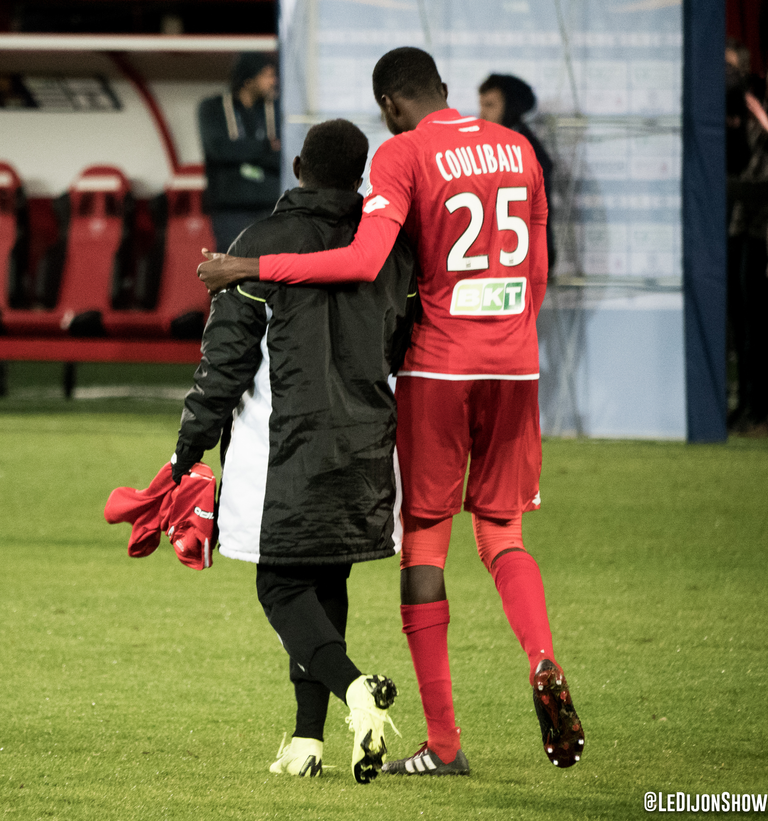 Jules Keita et Senou Coulibaly