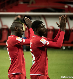 Julio Tavares et Senou Coulibaly