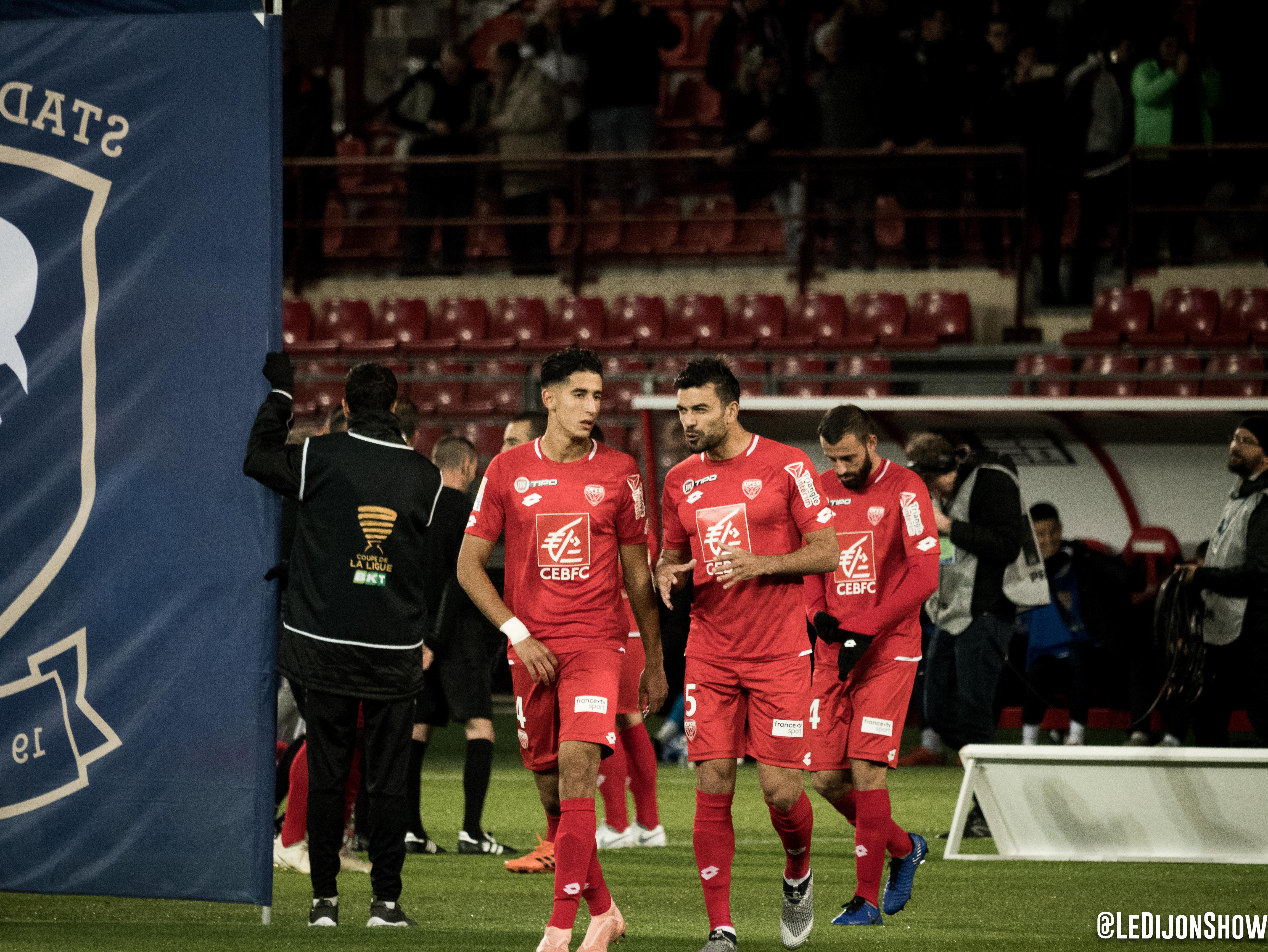Nayef Aguerd et Oussama Haddadi