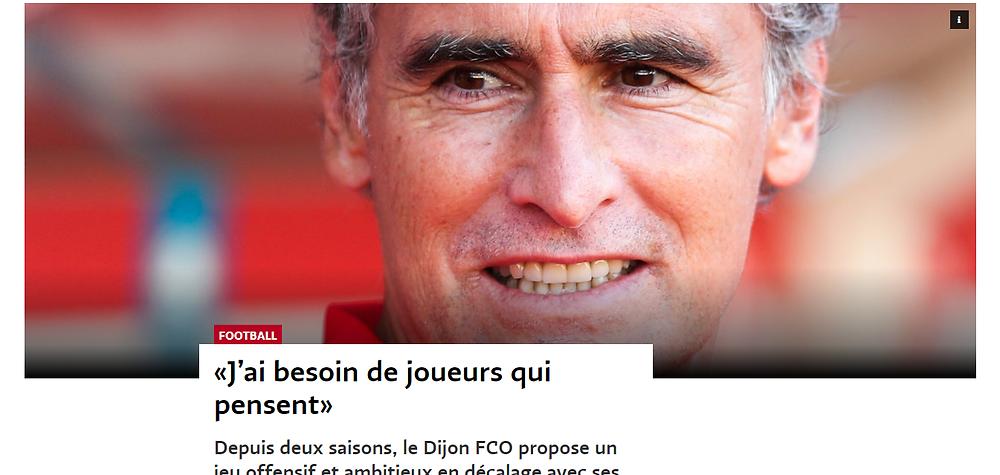 Le Temps a réalisé une longue interview de Dall'Oglio