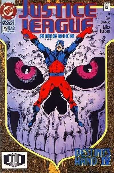 Justice League America #75