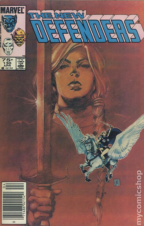 The New Defenders #130 (1972/1st series) Canadian Price Variant