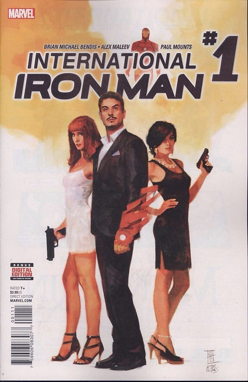 International Iron Man #1 (Alex Maleev Cover)