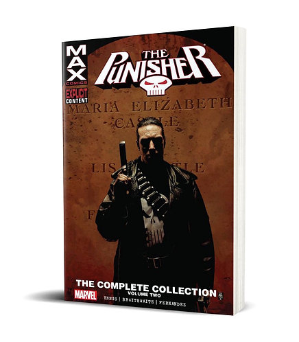 Punisher Max Vol.2 TPB Complete Collection