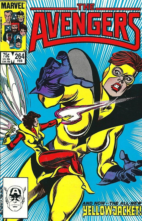 Avengers #264 (1st series) 1st Appearance of 2nd Yellow Jacket