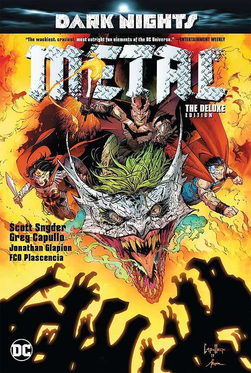 Dark Nights Metal Dlx HC + Signed S.Snyder