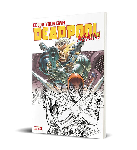 Color Your Own Deadpool Again TP