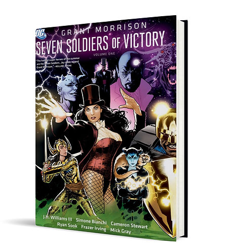 Seven Soldiers of Victory Vol.1+2 HC (Out Of Print/Out Of Stock)