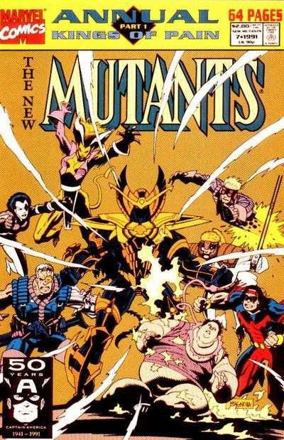 The New Mutants Annual #7