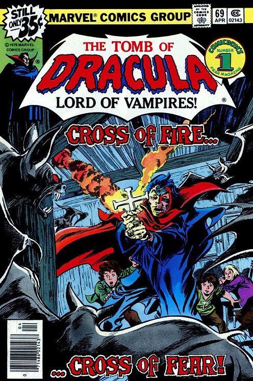The Tomb of Dracula #69 (1979 / 1st Series)