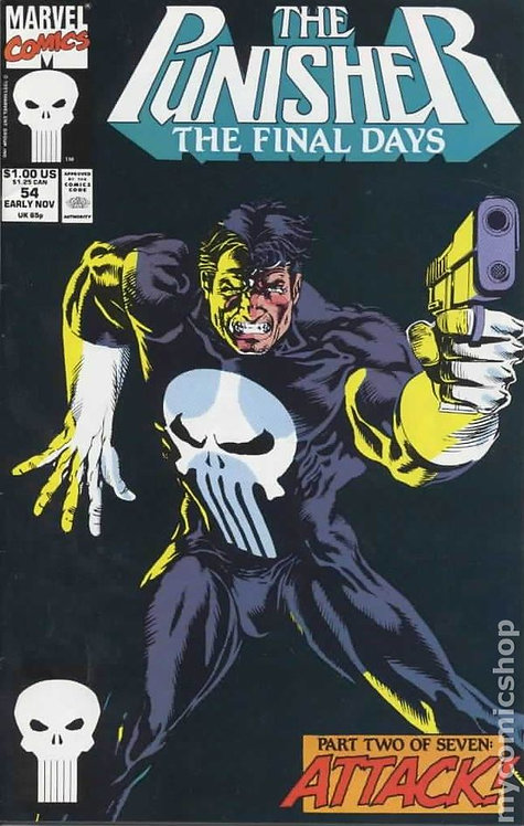 Punisher #54MJ (2nd Series) Mark Jewelers