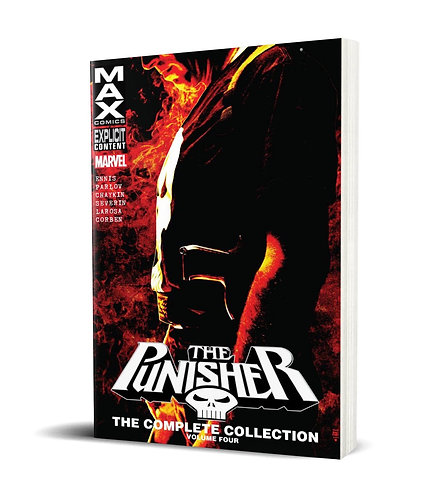 Punisher Max Vol.4 TPB Complete Collection